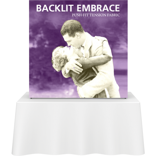 Embrace 5ft Backlit Push-Fit Tension Fabric Display