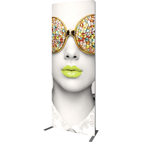 Vector Frame Curved 01 Fabric Banner Display