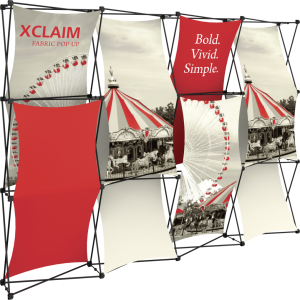 Xclaim 10ft Fabric Popup Display Kit 03